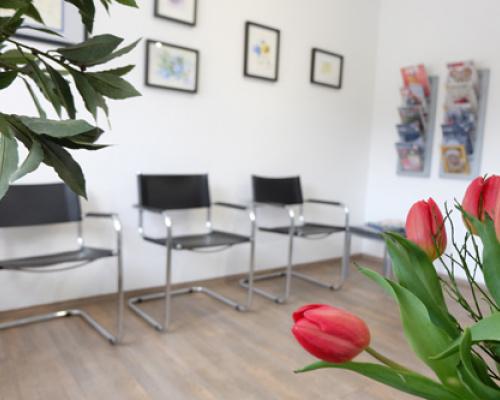 Zahnarztpraxis Iryna Völker – Warteraum